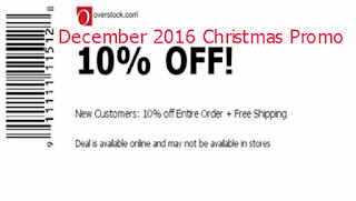 free Overstock coupons december 2016