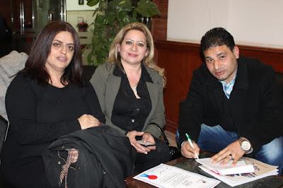 ندى بغدادى سيدة أعمال لبنانية ورئيسة جمعية الندى اللبنانية تفتح قلبها  بحوار خاص