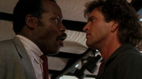 Danny Glover, Mel Gibson in Lethal Weapon