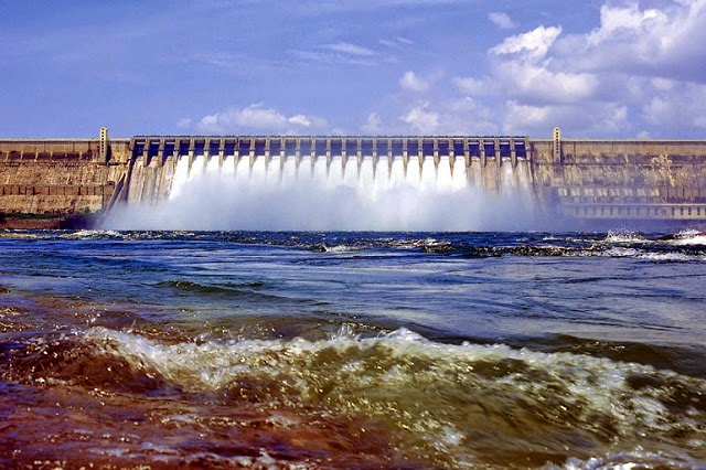 Nagarjuna Sagar - One of the largest dams in Asia