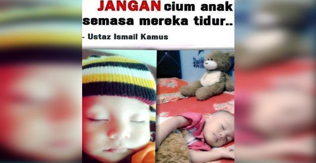 JANGAN Dicium Anak2 Sedang Tidur Kerana Itu Salah Satu Sebab Anak Kita Menjadi DEGIL