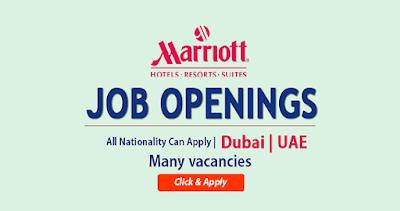 Latest Marriott Hotel Jobs In Dubai