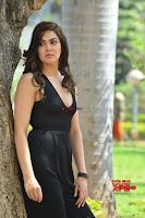 Sakshi Chaudhary in beuatiful black Deep neck Top and trousers at oollo pelliki kukka ~  Exclusive Galleries 009.jpg