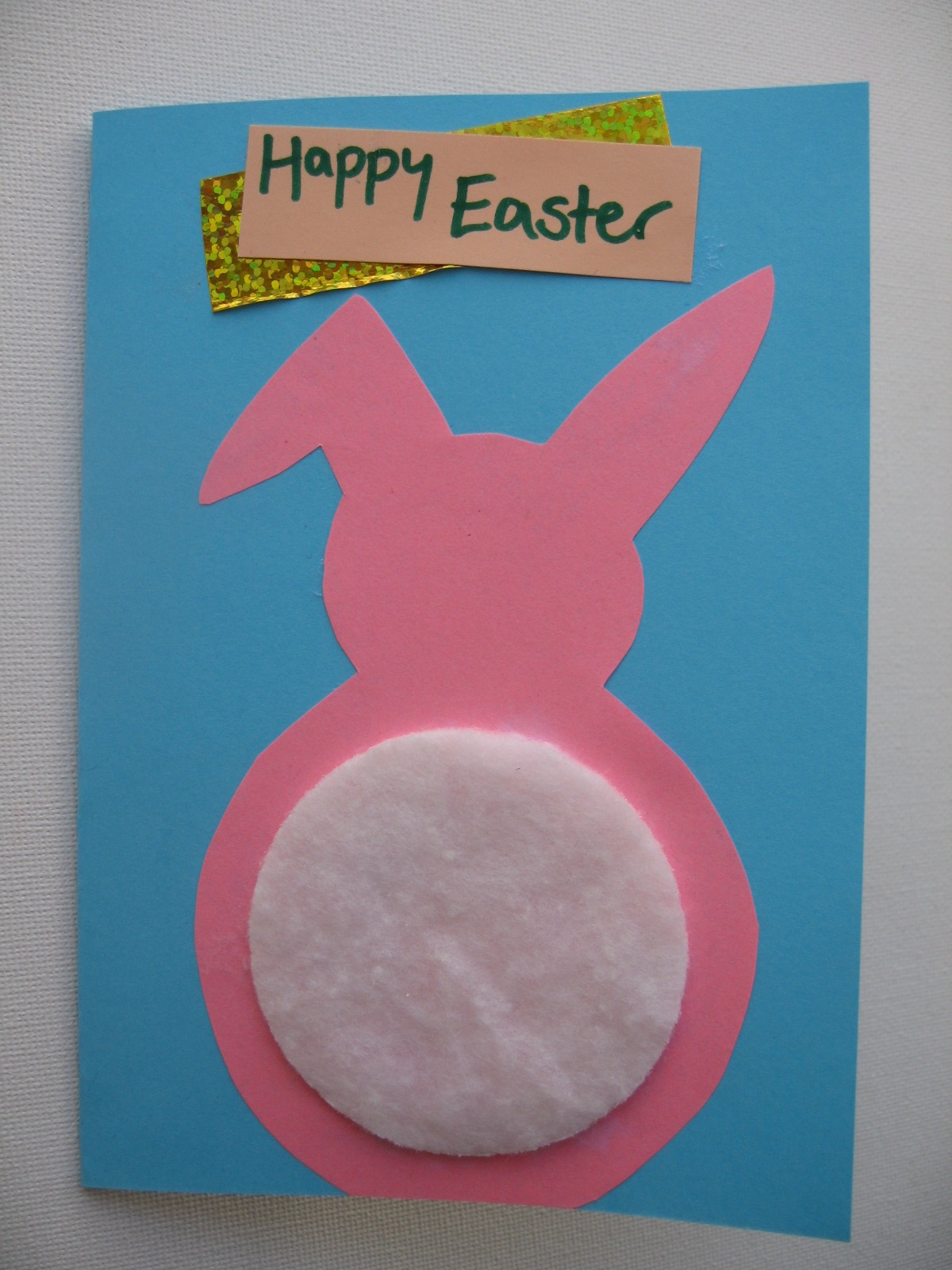 Craft With Jack Easter Bunny Card