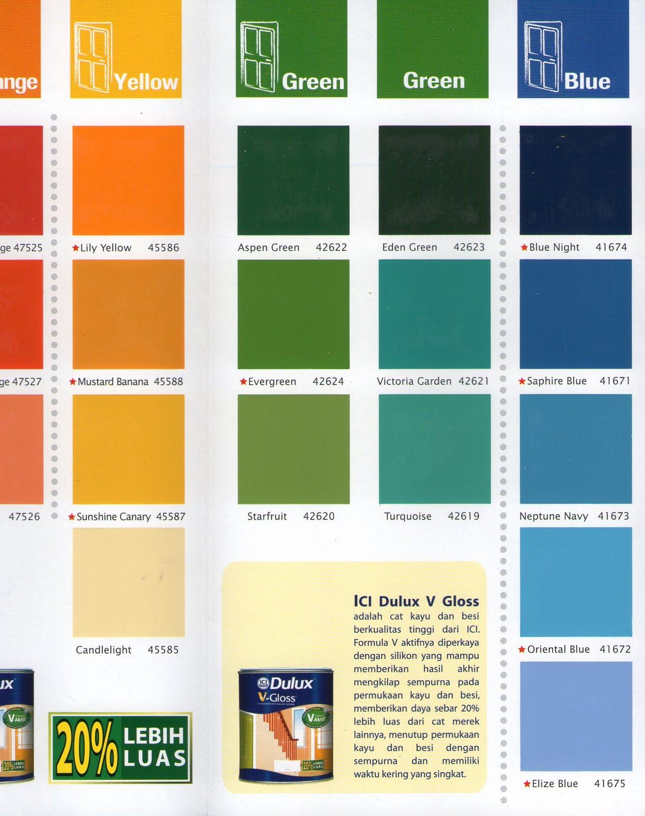 Kombinasi Warna Cat Rumah Avitex Kumpulan Desain Rumah