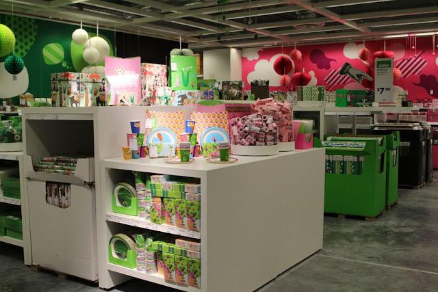 Interior da loja Ikea em Miami