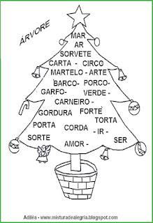 Treino ortográfico sobre o natal