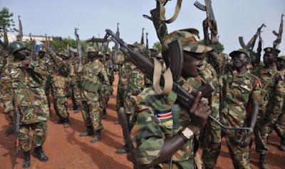 قتل 115جندي فى اشتباكات جنوب السودان