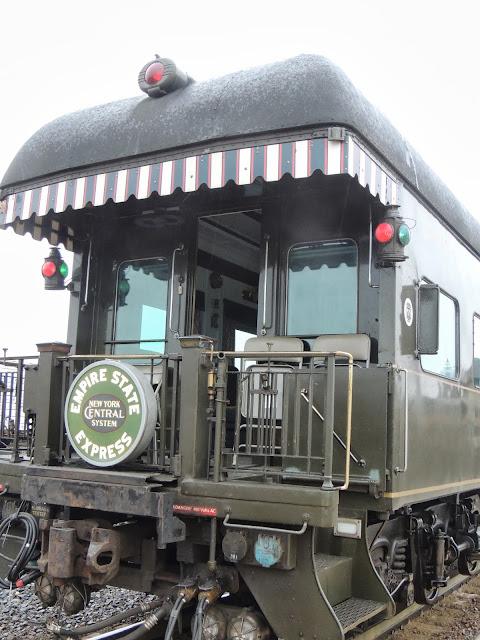 THE ROAD TAKEN  Vanderbilt Private Rail Car Old Blue