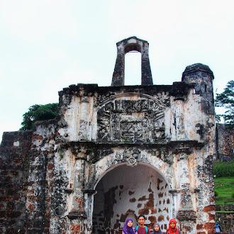Satu Hari Di Bandar Hilir Melawat A-Famosa, Stadthuys Dan Menara Taming Sari
