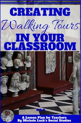 Are you always looking for the perfect lesson plan or strategy to teach a ton of content in a short period of time? Take a look at this great idea! It is perfect for the middle or high school classroom and students will love it! #teaching #gallerywalk #walkingtour #strategies #iteach678 #iteachhs