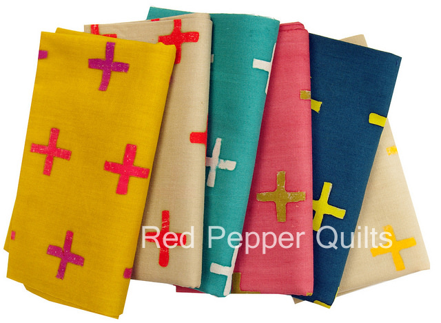 Handcrafted and Handcrafted 2 by Alison Glass for Andover Fabrics | Red Pepper Quilts 2015