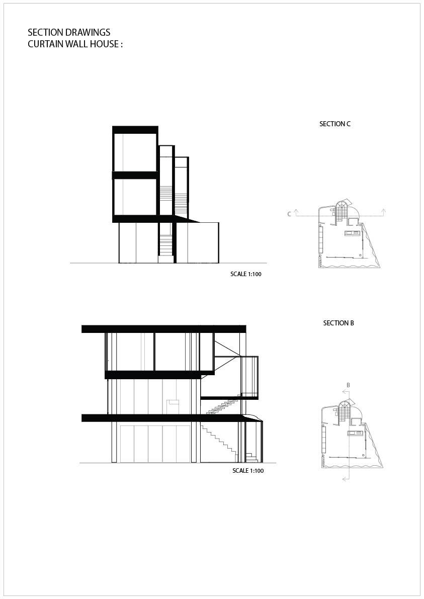 Shigeru Ban Curtain Wall House Plans House Plan