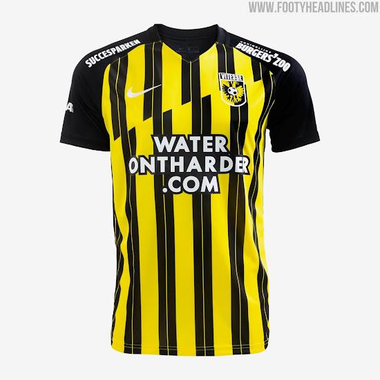 Vitesse 20 21 Home Kit Released Footy Headlines