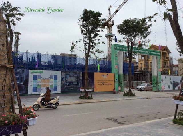 Cập nhật tiến độ chung cư Riverside Garden
