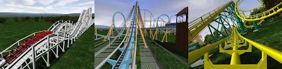 Tres capturas del juego, en distintas perspectivas para que vean los gráficos del juego.