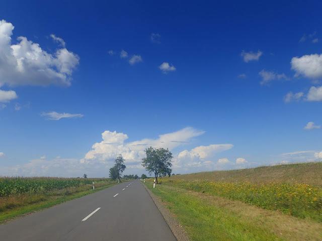 Jedna z węgierskich dróg