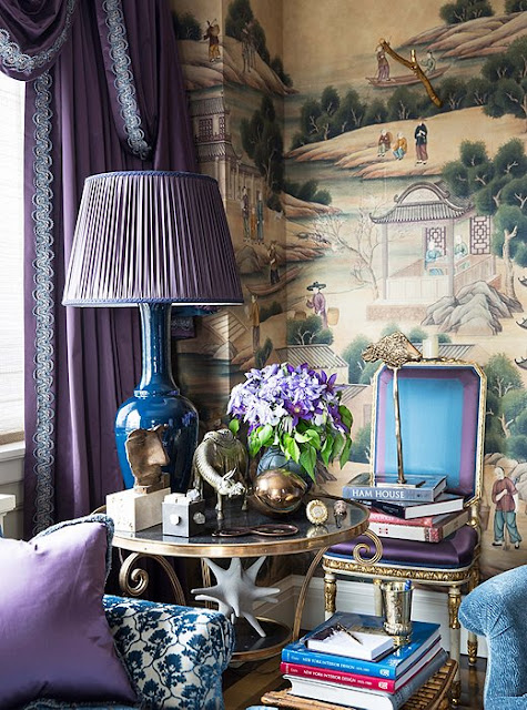 Glamorous Spaces: Alex Papachristidis's Manhattan apartment