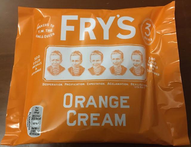 Fry's Orange Cream