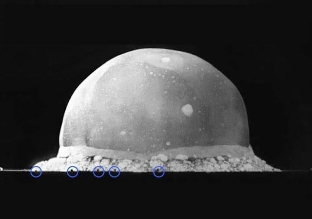 هذه الصورة لأول تفجير نووي في العالم