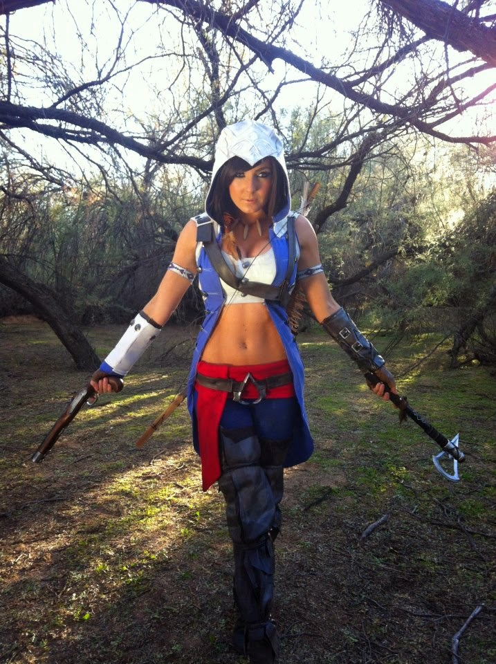Jessica Nigri cosplays de Assasin´s Creed