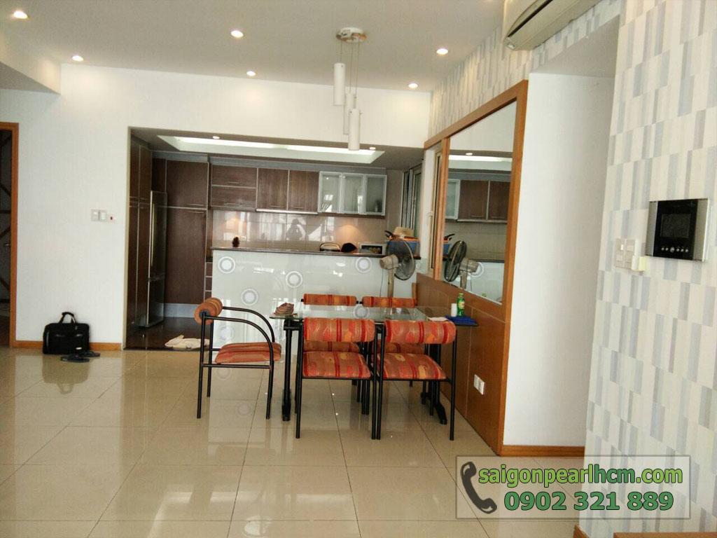 Bán hoặc cho thuê căn hộ Saigon Pearl 2018 | Ruby 2 - bàn ăn
