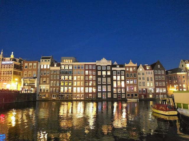 Romantiska promenader i Amsterdam