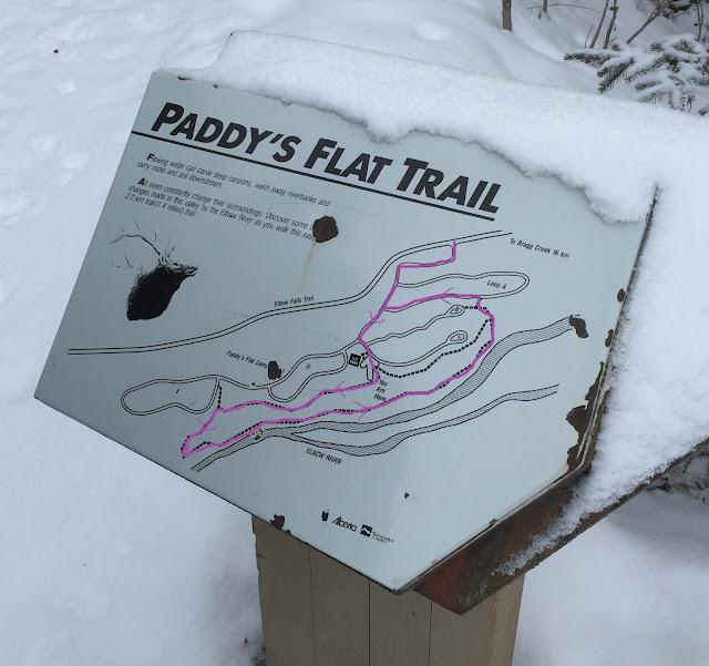 Paddy's Flat trail Map