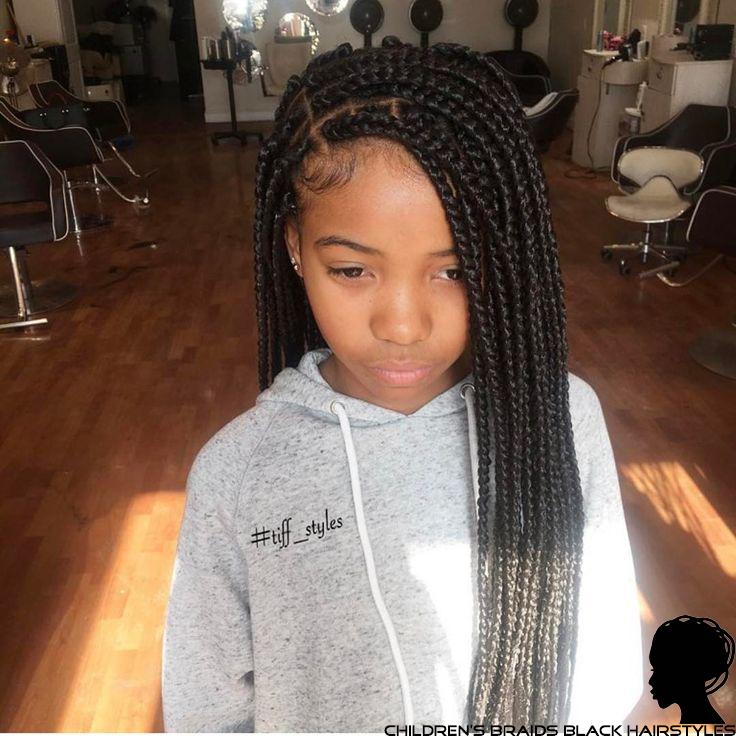 Children\'s box braids black hairstyles - Children\'s Braids Black ...