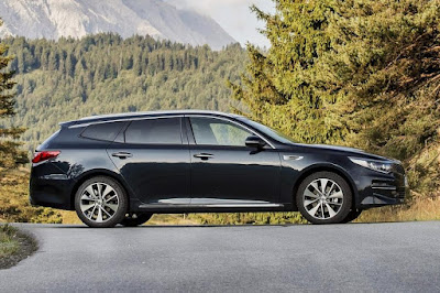 Kia Optima Sportswagon 3 (2017) Side