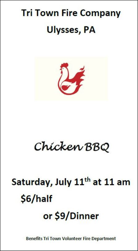 7/11 Tricounty Chicken BBQ