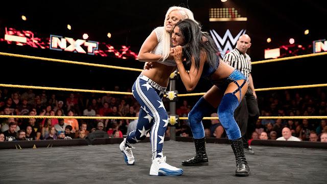 Female Pro Wrestling: Peyton Royce and Billie Kay - NXT