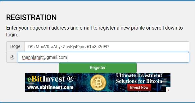 Đăng ký tài khoản Cryptoworld