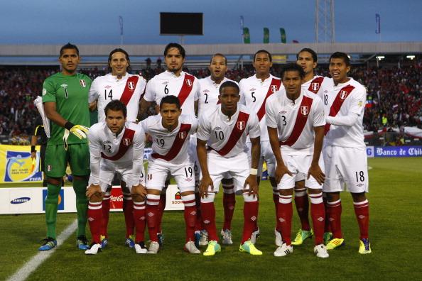 Formación de Perú ante Chile, Clasificatorias Brasil 2014, 11 de octubre de 2011