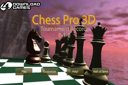 لعبة شطرنج ثلاثية الابعاد Chess Pro 3D