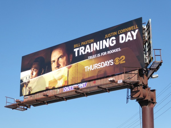Training Day TV remake billboard
