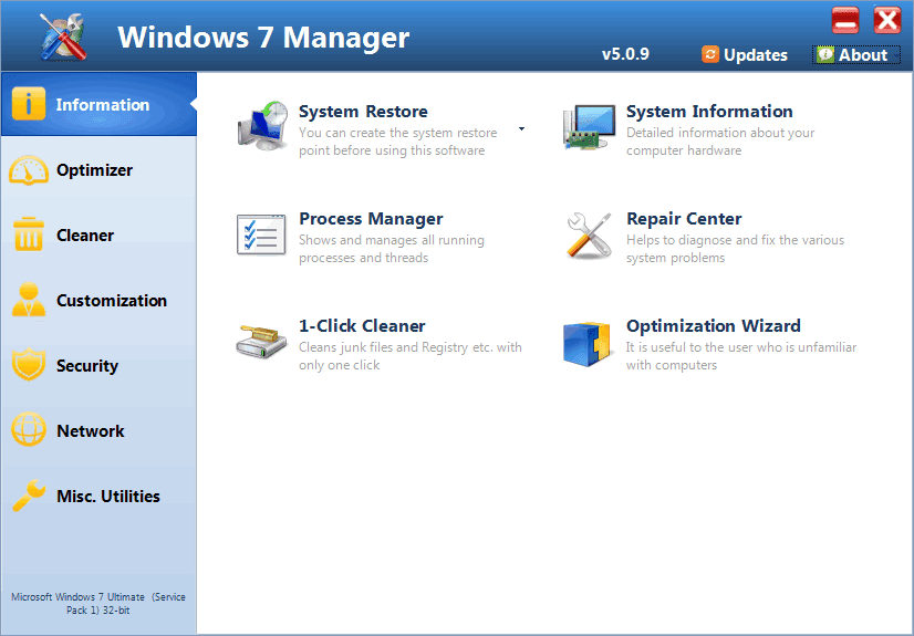 Windows 7 Manager Key
