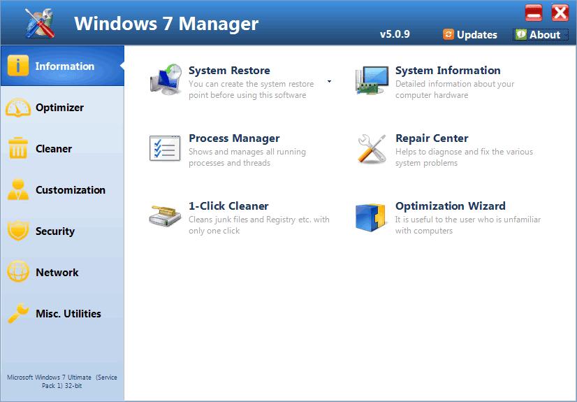 Windows 7 Manager Key