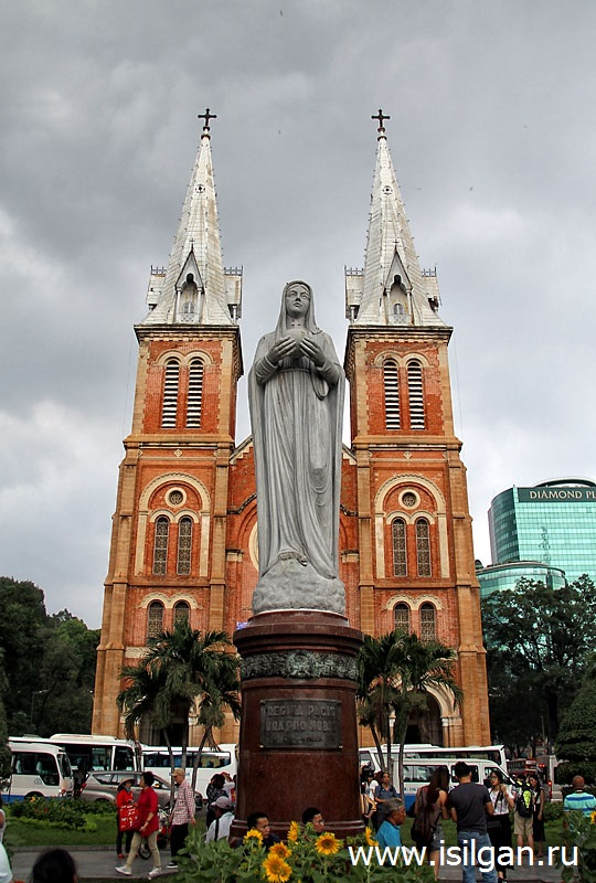 Собор Нотр-Дам де Сайгон (Notre-Dame Cathedral Saigon). Город Хошимин. Вьетнам