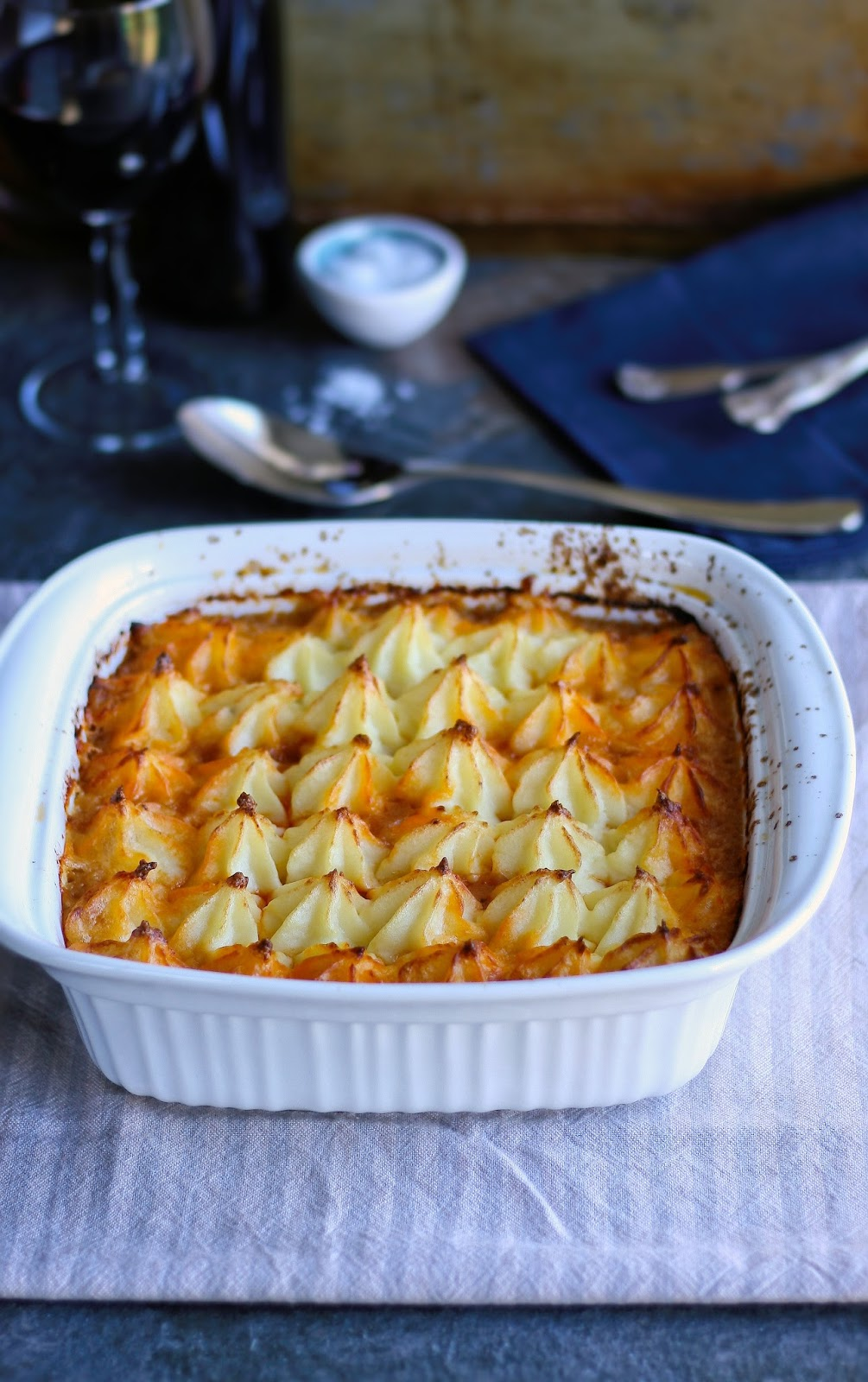 Winter shepherd's pie recipe.