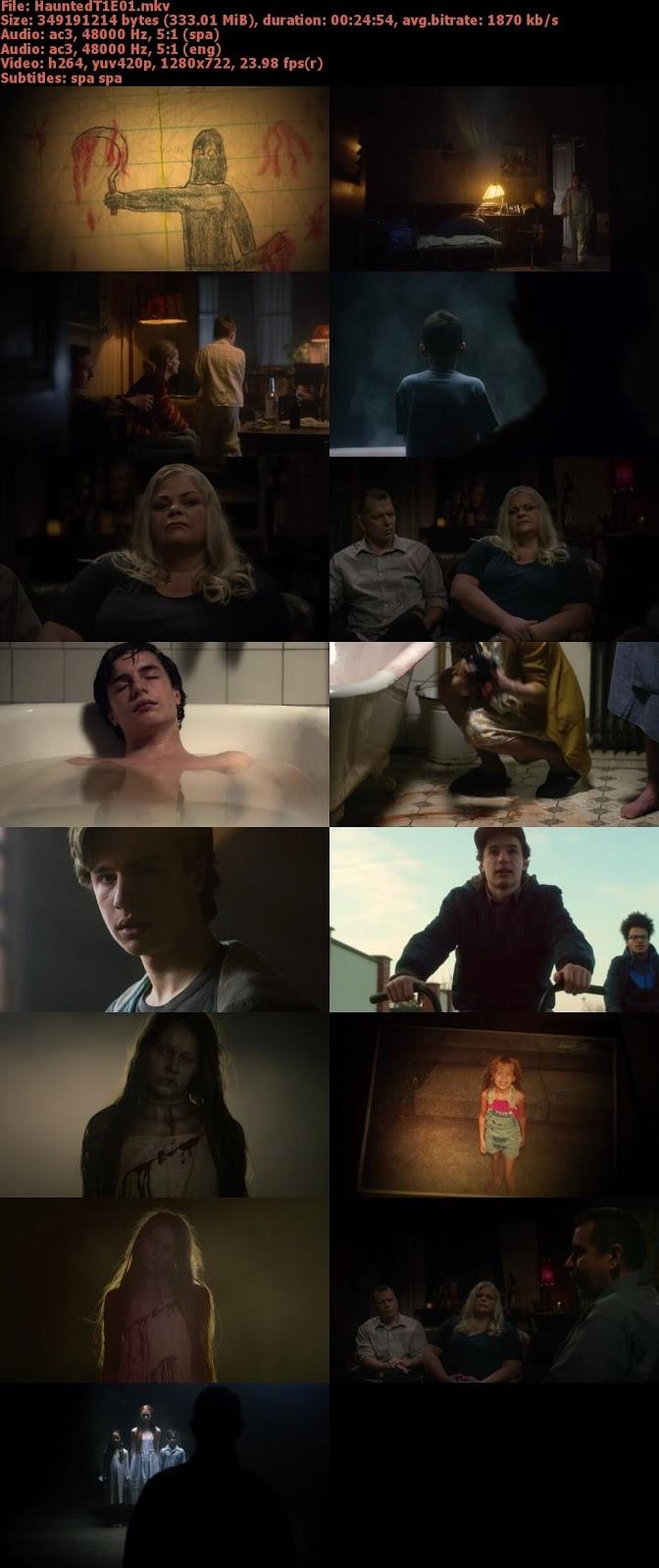 Capturas Haunted seri Netflix