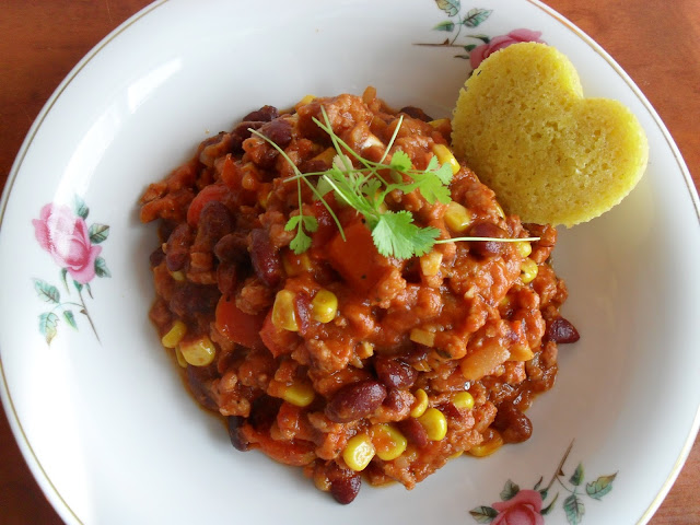 Chili con carne z indyka