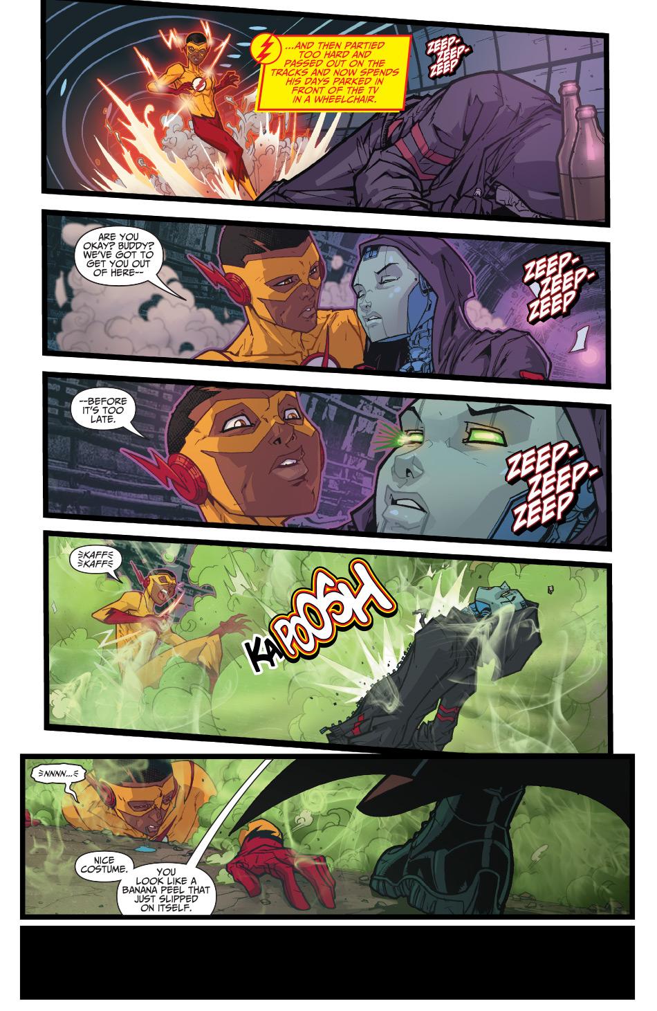 Weird Science Dc Comics First Look Teen Titans Rebirth 1-3608