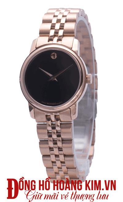 Đồng hồ nữ movado mới về dây sắt