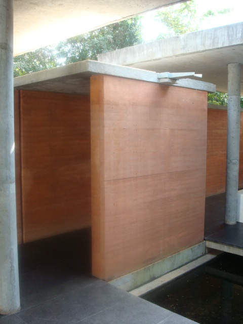 Architecture Student S Corner Rammed Earth Construction