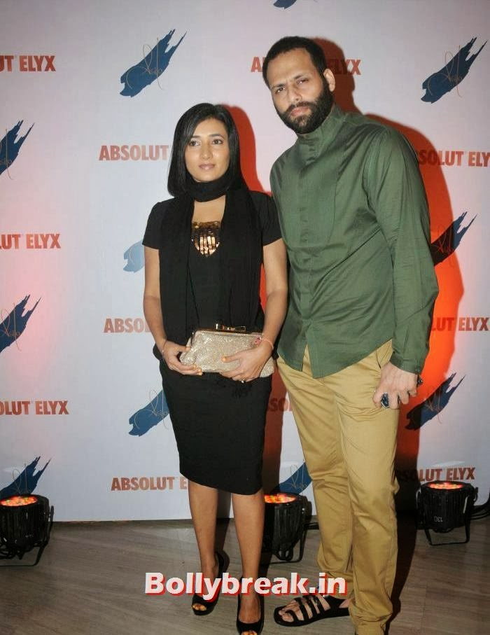 Bikram Saluja, Schauna, Suchitra Pillai Hosted Absolute Elyx Party