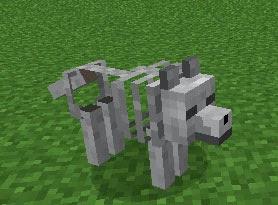 Gravestone Mod perro esqueleto