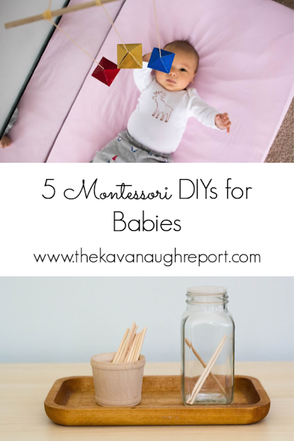 5 favorite Montessori DIYs for babies