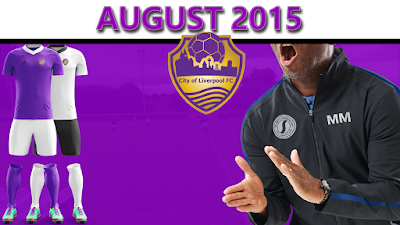 August 2015 City of Liverpool FC
