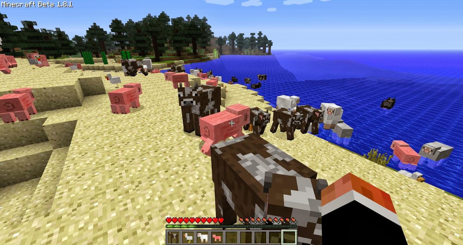 Minecrart : [Mods] Minecraft Craftable Animals Mod 1.6.4/1 ...